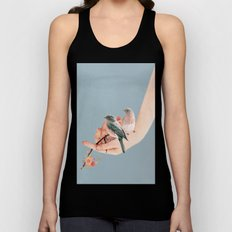 Birds on Hand Unisex Tank Top