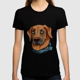 Rhodesian Ridgeback Dog Doggie Puppy Gift Present T-shirt