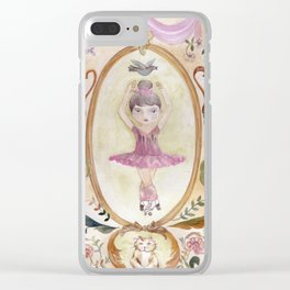 Pirouette - Let´s dance! Clear iPhone Case