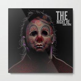The Night He Came Home. Metal Print