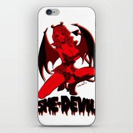 Diable Rouge iPhone Skin
