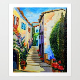 "''Italy"" Art Print"