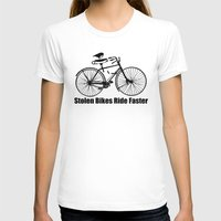 bikes T-shirts featuring stolen bikes... by Seamless