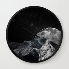 Behold the Sky Wall Clock