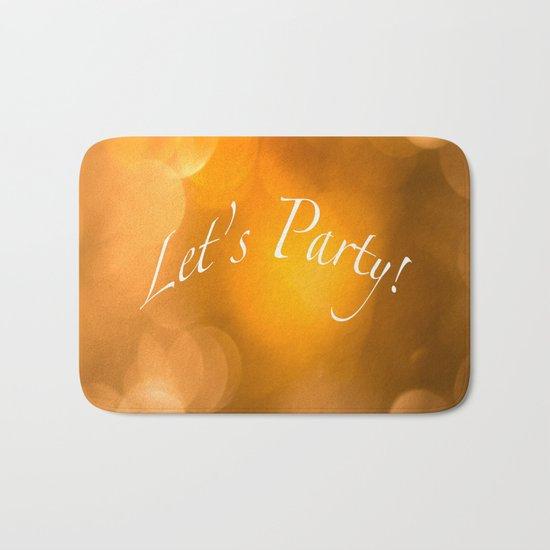 Let's Party! Bath Mat