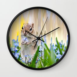 The End of Spring Wall Clock
