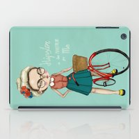 hipster iPad Cases featuring Hipster by Maripili