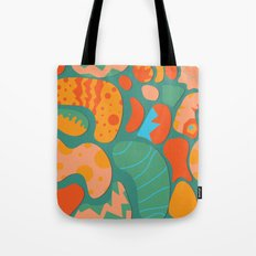 Amazing things will happen Tote Bag