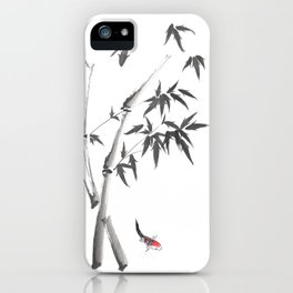 Leaves or Fishes? iPhone Case