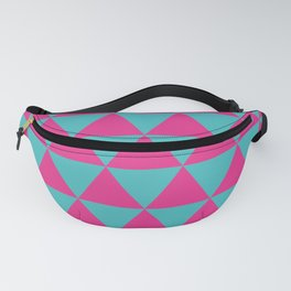 Pink triangles Fanny Pack