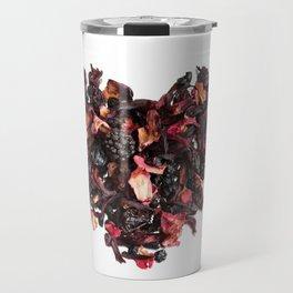 petals tea formed in heart shape Travel Mug