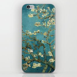 Van Gogh - Blossoming Almond Tree iPhone Skin