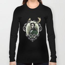 Oberon: Portrait of a Monarch Long Sleeve T-shirt