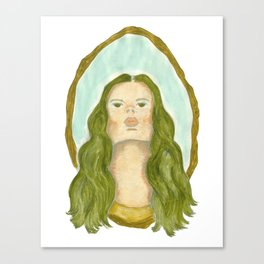 Lady of the Water Canvas Print