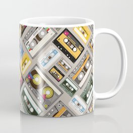 Retro cassette tape pattern 4 Coffee Mug