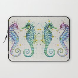 Guardians of the Sea - Natural Laptop Sleeve