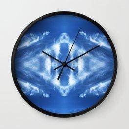 Tie Dye Sky Wall Clock