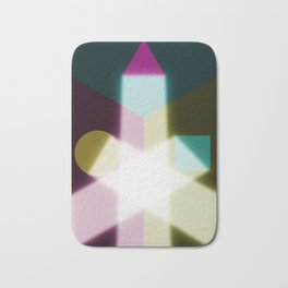 Known or unknown (square, equilateral triangle, circle) Bath Mat