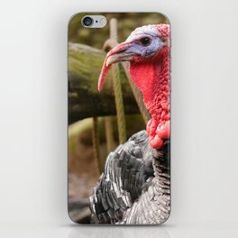 Turkeys are our friends iPhone Skin