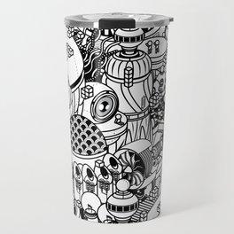 Dark Matter Space Machine Travel Mug