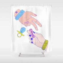 Girl Gang #2 Shower Curtain