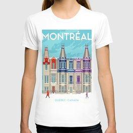 Montreal - Quebec - Canada T-shirt