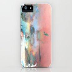 Clouds like Splattered Watercolor Slim Case iPhone (5, 5s)