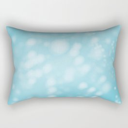 Turquoise Ombre Rectangular Pillow
