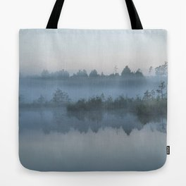 The morning mist Tote Bag