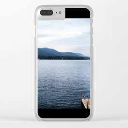 Lake George New York Clear iPhone Case
