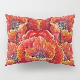 Big red poppies Pillow Sham