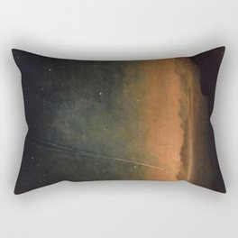 Smyth - The Great Comet of 1843 Sunset Magical Stars Rectangular Pillow