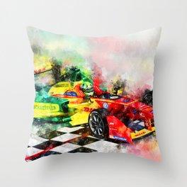 Lucas di Grassi, Formula E Throw Pillow