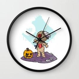 Cute Voodoo Wall Clock