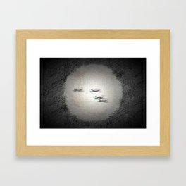 AirRaid Framed Art Print