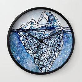 Iceberg Effect Wall Clock