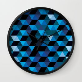 Geo Ice Wall Clock
