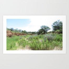 Clovis Site, No. 2 Art Print