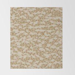 Wednesday Frog Pattern Throw Blanket