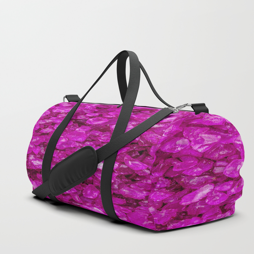 Small Sparkling Pebbles G Duffle Bag by Mehrfarbeimleben DFL8457769