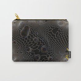 Checkered Past Web Carry-All Pouch