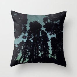 Night giants Throw Pillow