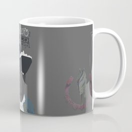 August 29th GFALA Cavaleiro Poster grey Coffee Mug
