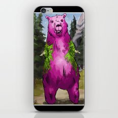 Armless Bear in Nature iPhone & iPod Skin