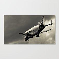 Beluga Super-Transporter Canvas Print