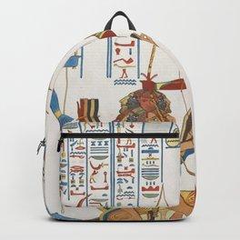 Vintage Egyptian gods artwork Backpack