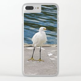 Weekend Willy Clear iPhone Case
