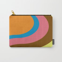 Retro Flow Carry-All Pouch