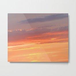 Berkshires Sunset IV Metal Print