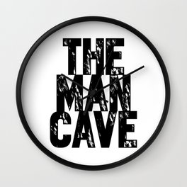 Man Cave 2 Wall Clock